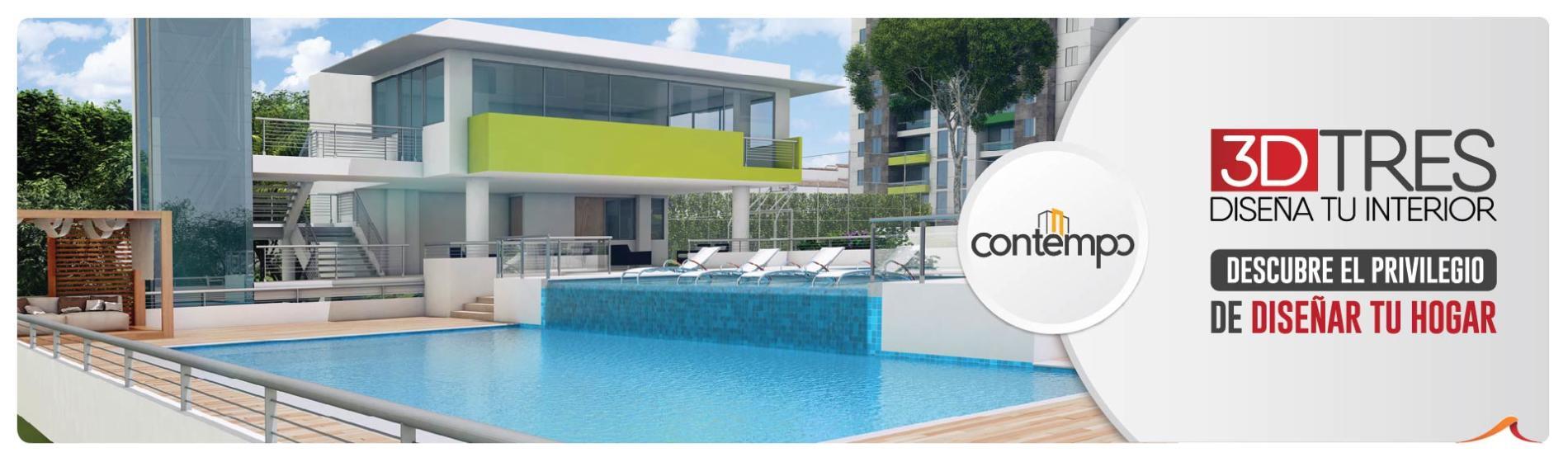 Contempo Apartamentos sobre planos en Floridablanca - Constructora Grupo Domus