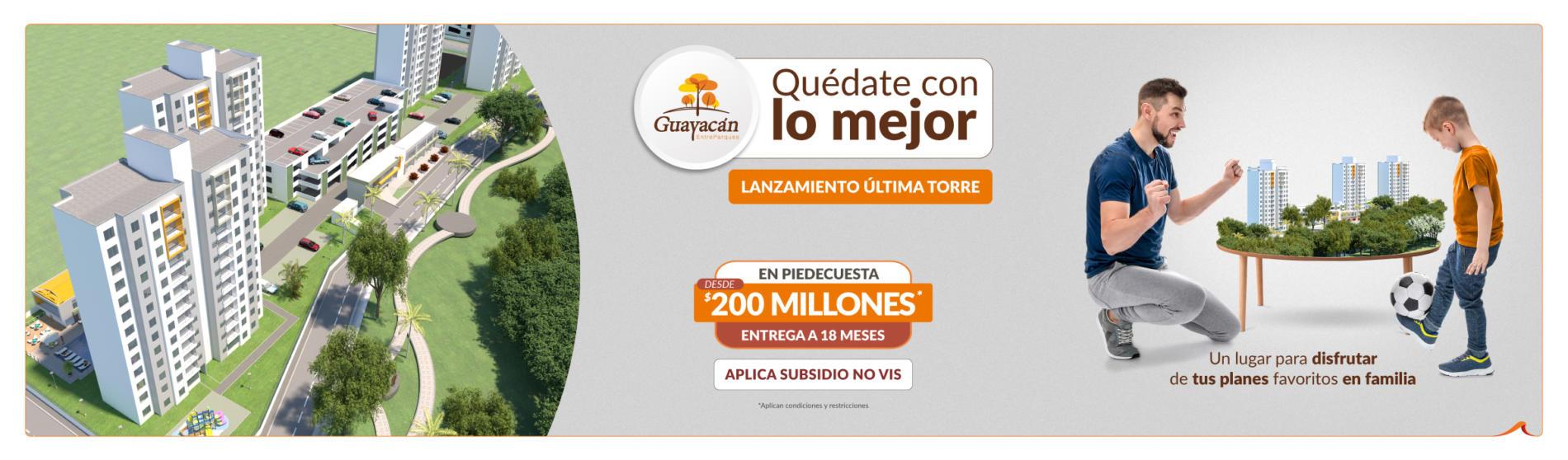 Guayacán EntreParques apartamentos en Piedecuesta - Constructora Grupo Domus