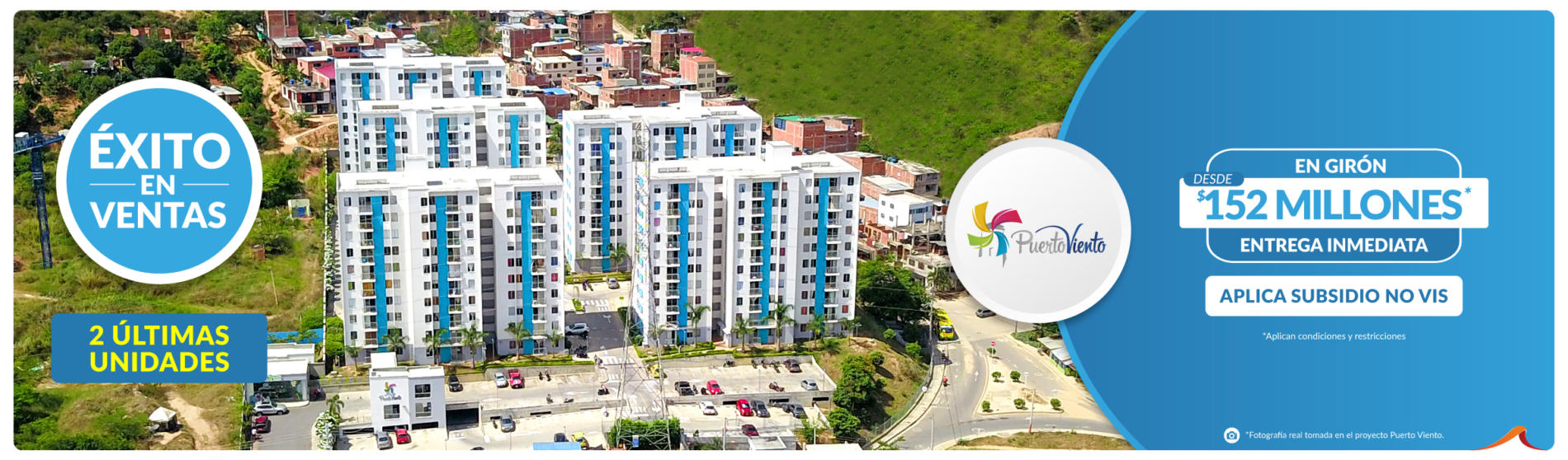 Puerto Viento - apartamentos en Girón - Constructora Grupo Domus