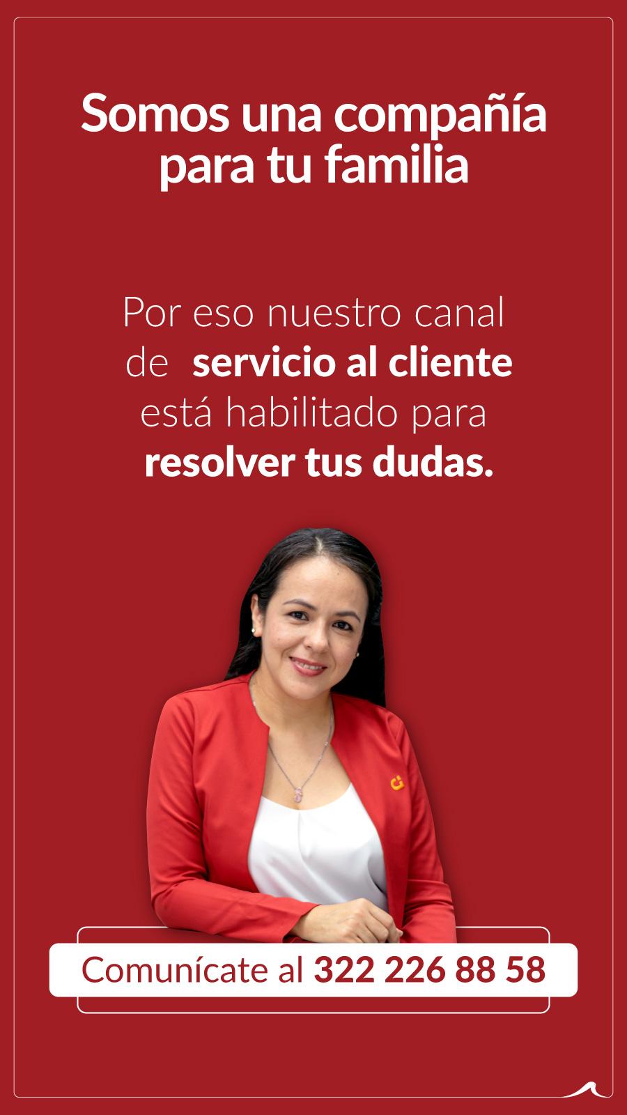 Servicio al cliente Grupo Domus resuelve tu duda