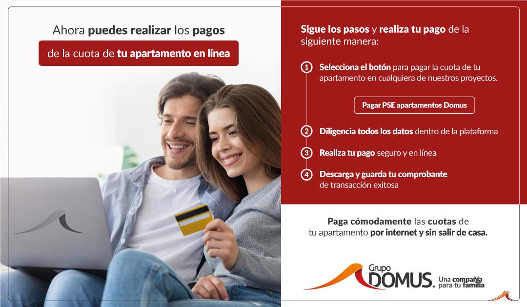 Pagos en linea PSE - Grupo Domus