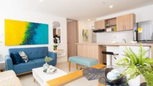 Apartamento en Girón que se valorizó antes de empezar su construcción