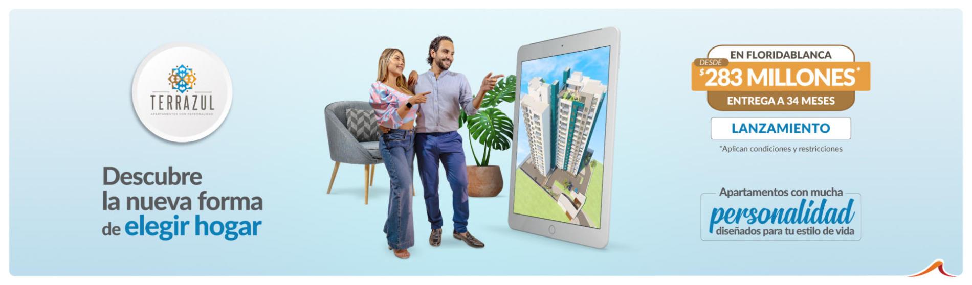 Apartamentos sobre planos en Floridablanca