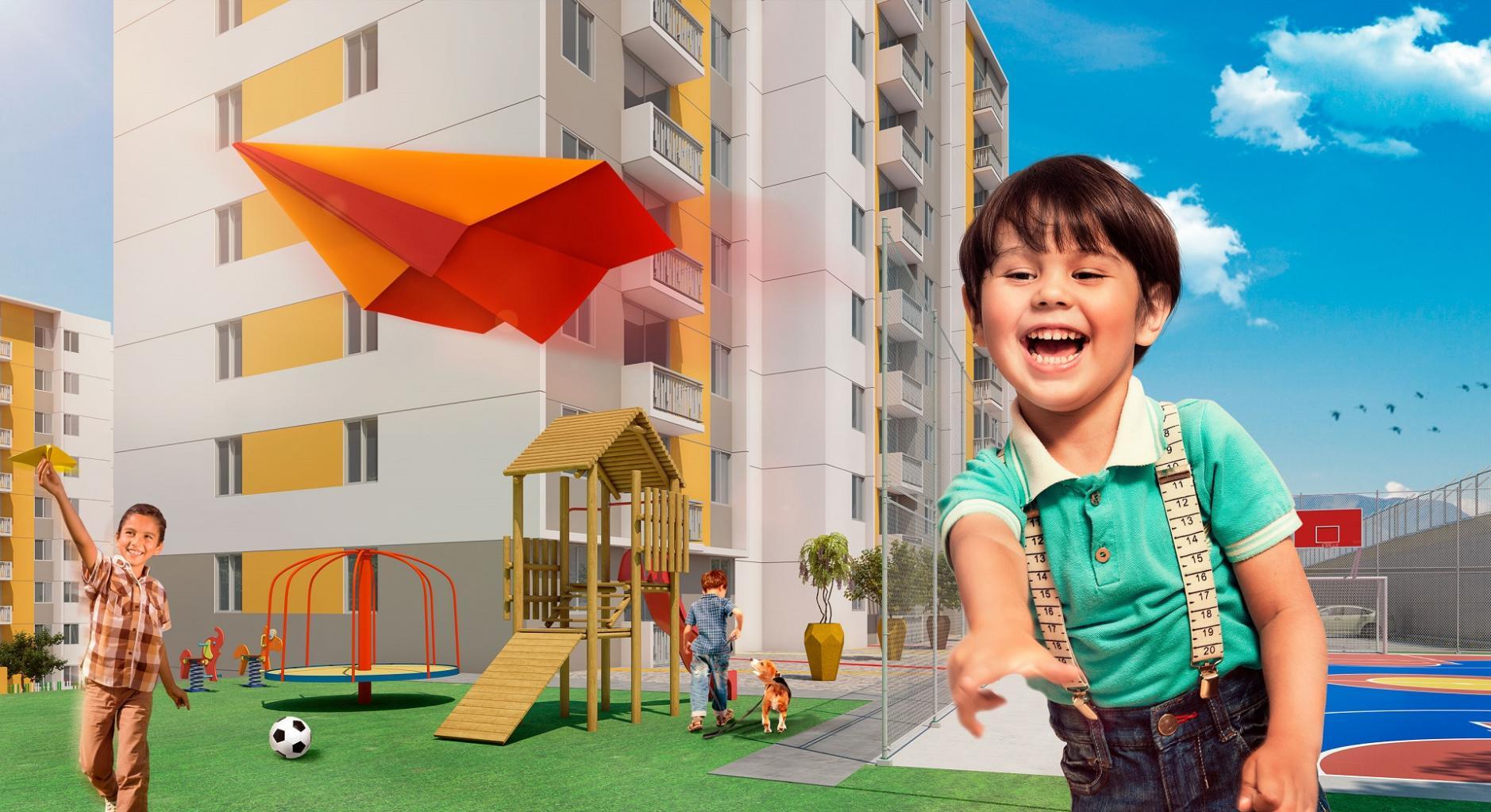 zonas comunes que no encuentras en todos los proyectos de vivienda - Parque Infantil
